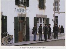 1990  --  SAINT GUENOLE   RENDEZ VOUS AU BAR DU PORT   3H738