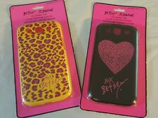 Lot 2 Designer Betsy Johnson cell phone covers Samsung Galaxy S3 case New