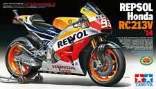 Tamiya 1/12 Repsol Honda RC213V '14 Model Motorcycle  Kit Honda RC213V'14 #14130