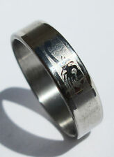Scorpion Stainless Steel Ring - Size 8  (18.1mm)