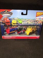 Disney's Chuggington Stack Track Safari Park Patrol Set Of 3-GREAT FOR EASTER