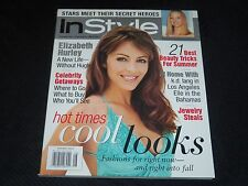 2000 AUGUST IN STYLE MAGAZINE - ELIZABETH HURLEY FRONT COVER - FASHION - J 3018