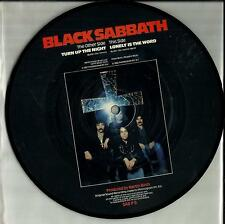 Black Sabbath picture disc 45rpm single - Turn Up The Night/ Lonely Is The Word