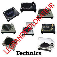 Ultimate SL1200 & SL1210 MK2 MK5 LTD M3D M5G GLD Owner Repair Service Manual s