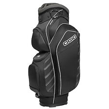 OGIO Golf 2016 Giza Cart Bag Black 15 Way Full Length Divided w/ Cooler NEW