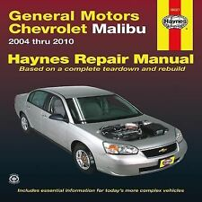 2004-2010 Haynes Chevrolet Malibu Repair Manual