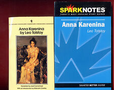 Anna Karenina by Leo Tolstoy & SparkNotes study guide - Free Shipping! -