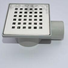 Bodenablauf Duschablauf Duschrinne DN 50 Badablauf Geruchsverschluss 110/110