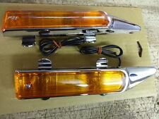 HARLEY FLT MODELS 1980 THRU 1999  FRONT FENDER LAMP SET