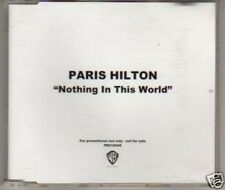 (L612) Paris Hilton, Nothing in This World - DJ CD