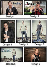 Personalised Johnny Ruffo Fridge Magnet - With Name or Msg  - Gift Idea - 7x5cm
