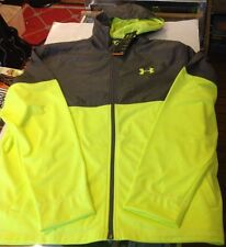 Under Armour All Seasons Running Jacket Neon Yellow Size XL NEW