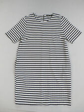 Dorothy Perkins Women's Striped S/S Shift Dress Multi-Color Size 14