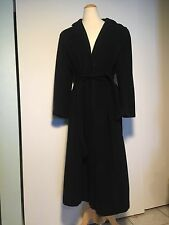 Regency Pure Cashmere For Saks Fifth Avenue Black 3/4 Length Trench Coat Women's