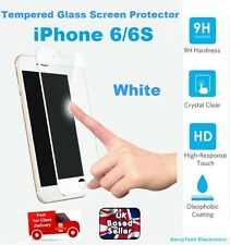 Full 3D Cover Tempered Glass Screen Protector for iPhone 6 6S 4.7 inches WHITE