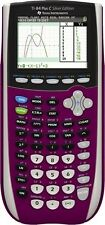 Texas Instruments TI-84 Plus C Silver Edition Graphing Calculator - Purple