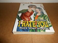 I Hate You More Than Anyone Vol. 2 by Banri Hidaka CMX Manga Book in English