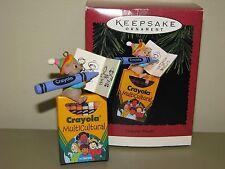 Hallmark Christmas Ornament Colorful World Crayola Multicultural 1995 crayon
