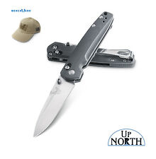 Benchmade 485 VALET AXIS Knife M390 Super Steel Drop-Point Blade G10 FREE HAT