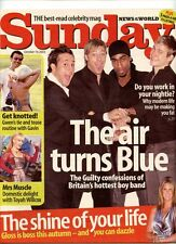 BLUE -  TOYAH - GWEN STEFANI-  SUNDAY MAG - 19 OCT 2003