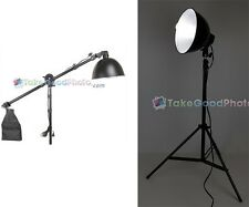 105W Studio Lighting include Reflector, Extension Arm with Sand Bag, Light Stand