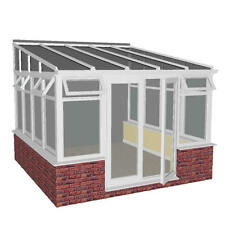 3.5m x 2.5m DIY LEAN - TO SYNSEAL SYNERJY CONSERVATORY***ALL SIZES AVAILABLE***
