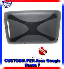 Pellicola+Custodia cover case X-TYPE NERA per Asus Google Nexus 7