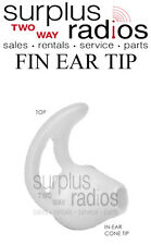 Comfortable Ear-Mold Fin Earpiece Motorola Surveillance headsets APX6000 APX7000
