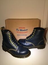 "Vgc! Sz7 England Dr. Martens 1460 ""1st Service Award"" Smooth Leather Boots Eu41"