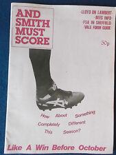 And Smith Must Score - August 1989 Fanzine.
