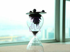Iron Powder Flower Sandglass Hourglass Timer Magne Decor Xmas Birthday Gift