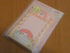 """Sanrio My Melody standing memo Japan 40 sheets. About 3x5"""" (7.5x13 cm)."""