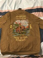 Maharishi x Travis Scott Year Of The Cowboy Rodeo Tour Olive Jacket (Large)