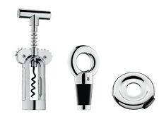 WMF Vino Wine Accessory Set, Winged Corkscrew Foil Cutter Bottle Stopper