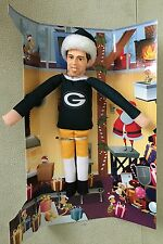 Aaron Rodgers Green Bay Packers Player Elf Forever Collectibles Figurine