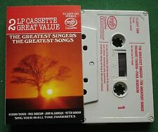Greatest Singers Greatest Songs Richard Tauber Robeson + Cassette Tape - TESTED