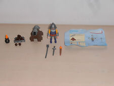 Playmobil set. 3316/5758 Medieval solider with Firing Canon. Complete & Vintage