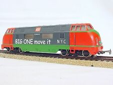 Marklin AC HO NEW YORK CENTRAL BIG ONE MOVE IT V-200 DIESEL LOCOMOTIVE Promo`65