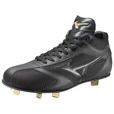 MIZUNO Baseball spikes Global Elite ML MU 11GW1411  Black X black
