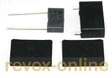 4 * X2 Entstörkondensatoren, 3 * 470nF, 1 * 100nF, 275V~ für Revox B77 MKII