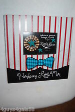 """FRAME 11"""" Square HANSOME LITTLE MAN Red Stripe BOWTIE Boy For 6x4 photo"""