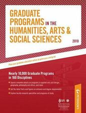 Graduate Programs in the Humanities, Arts & Social Sciences - 2010: Ne-ExLibrary