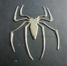 Self Adhesive Chrome Effect Spider Badge Decal for Nissan Almera Micra Primera