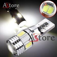 2 LED T10 HID 6 SMD Lampade Lampadine Canbus 5630 BIANCO Xenon Posizione W5W