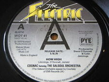 "COGNAC featuring THE SALSOUL ORCHESTRA - HOW HIGH   7"" VINYL PROMO"