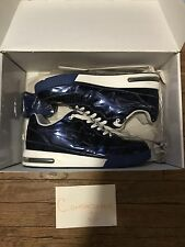 A Bathing Ape BAPE Roadsta Foil Metallic Blue Size 10 VERY RARE LIMITED EDITION