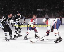 GUY LAFLEUR Fights 4 LOOSE PUCK vs Pitt 8x10 Photo MONTREAL CANADIENS HOF GREAT