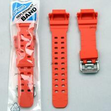 ORIGINAL CASIO G-SHOCK REPLACEMENT BAND STRAP for GX-56-4 GXW-56-4, ORANGE MATTE