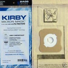 Kirby Micron Vacuum Bags 4 Ultimate G Diamond G6 G5 G4 G3 Heritage 9 Bags 197394