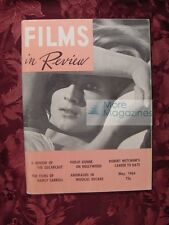 RARE FILMS in REVIEW May 1964 Daniela Bianchi Robert Mitchum Nancy Carroll